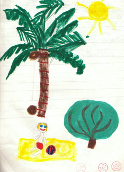 A Seven-year-old look at life on a boat